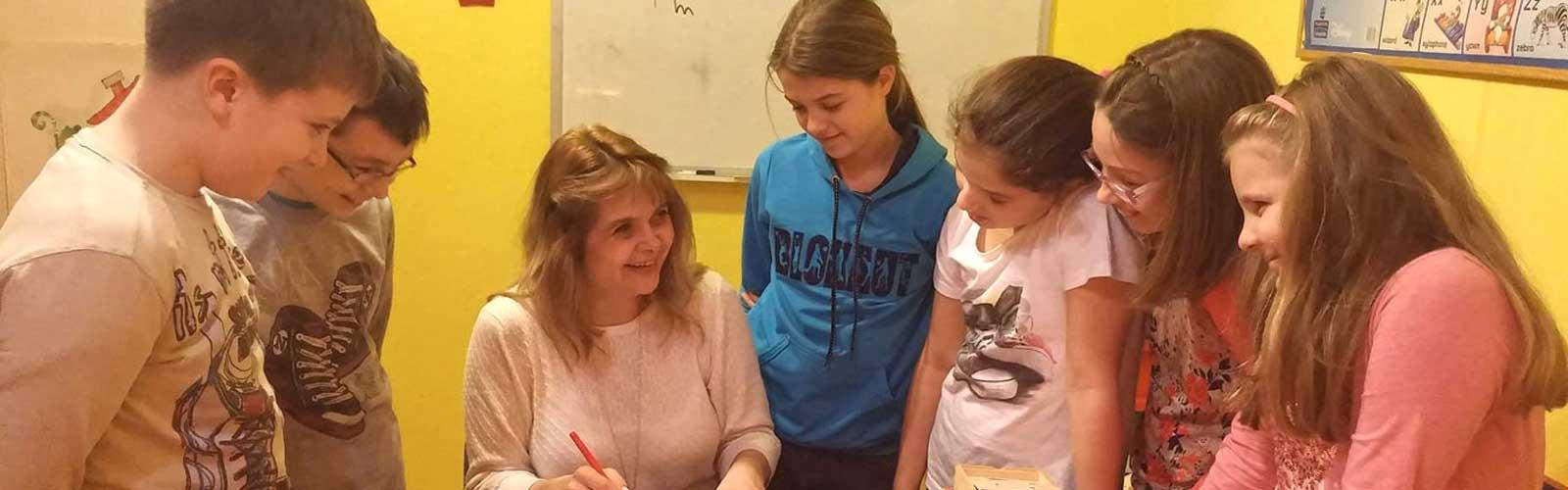 engleski za decu, Bunny school, Zemun, Beograd